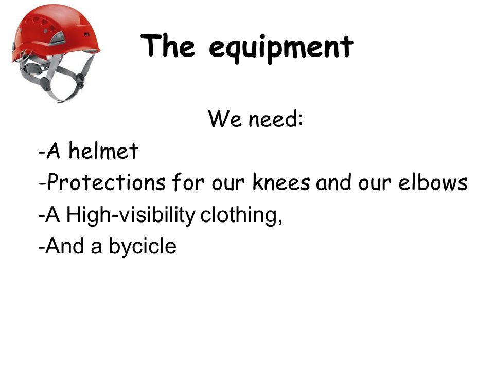 A bicycle helmet is a helmet intended to be worn while riding a bicycle.