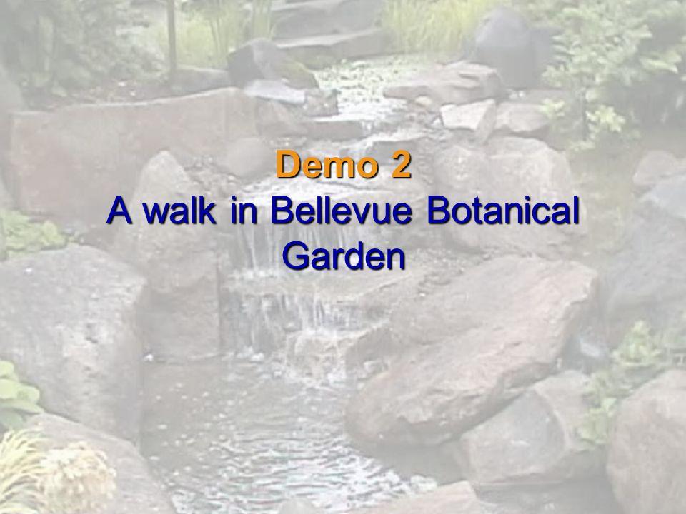 Demo 2 A walk in Bellevue Botanical Garden