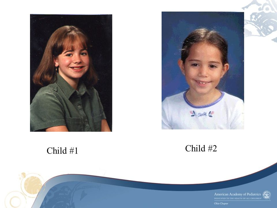 Child #2 Child #1