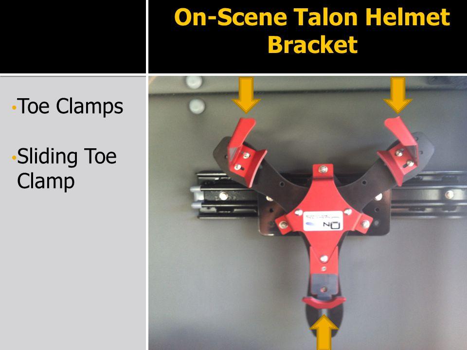 On-Scene Talon Helmet Bracket Toe Clamps Sliding Toe Clamp