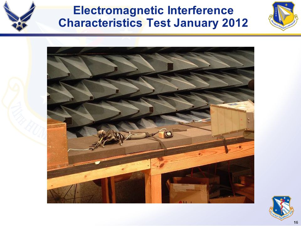 16 Electromagnetic Interference Characteristics Test January 2012