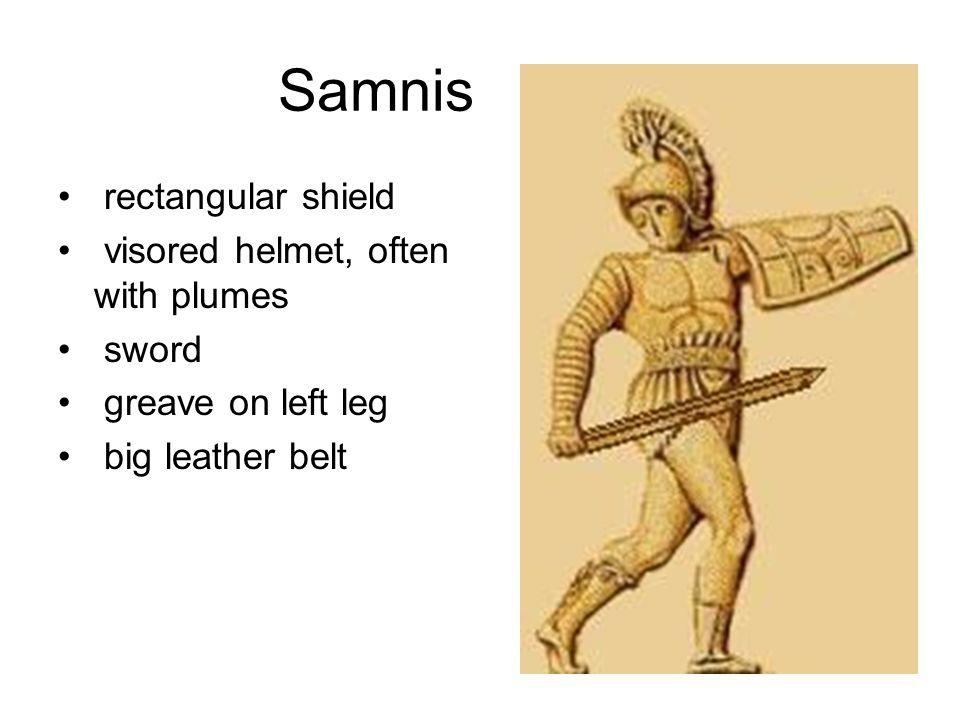 Samnis (later called hoplomachi)