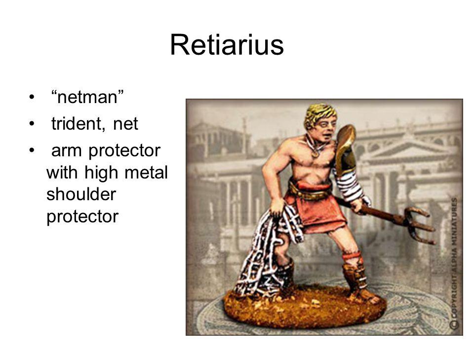 gladiator raised finger to signal defeat