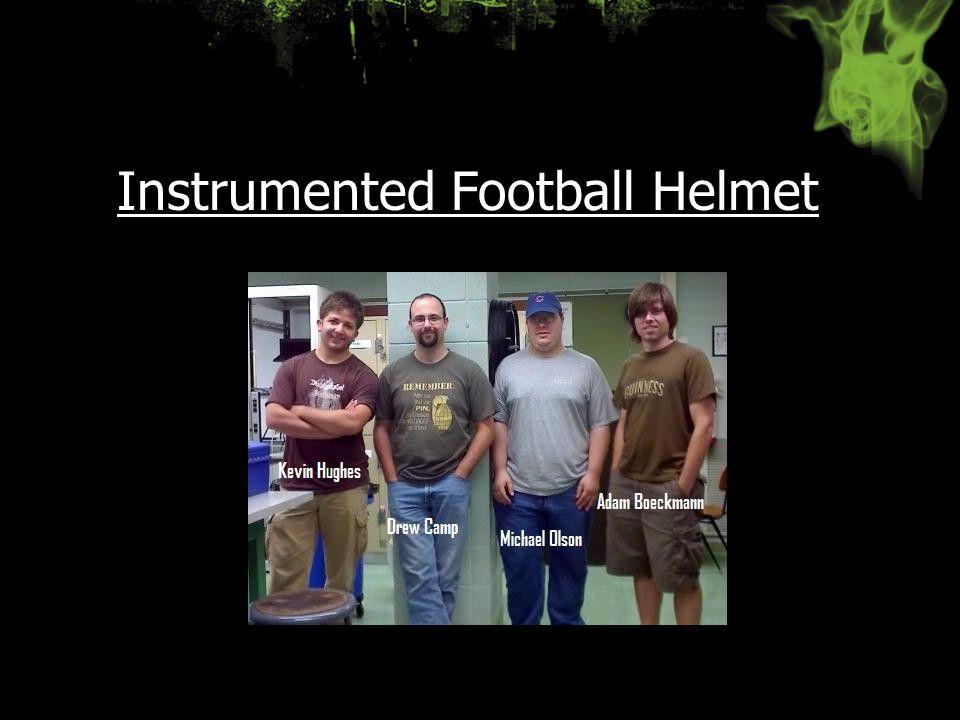 Instrumented Football Helmet
