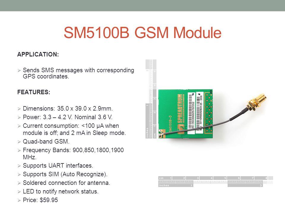 SM5100B Functional Block Diagram