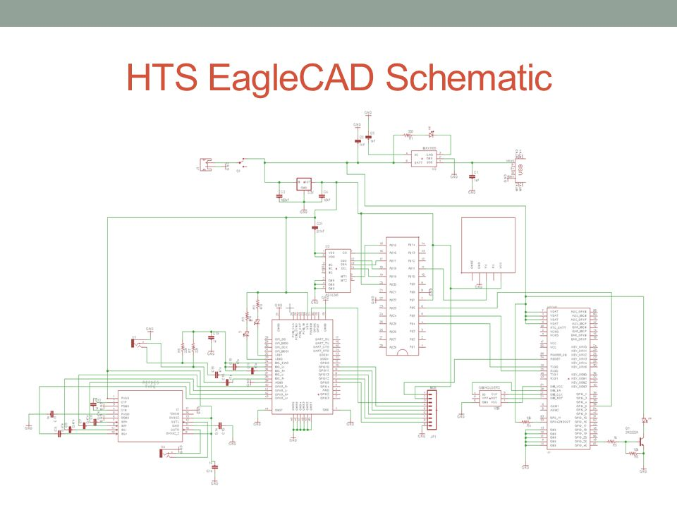 HTS EagleCAD Schematic