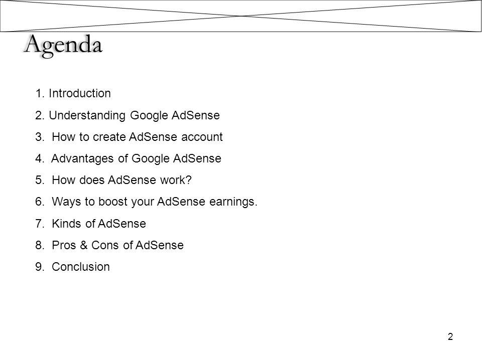 Kinds of AdSense 13 1.