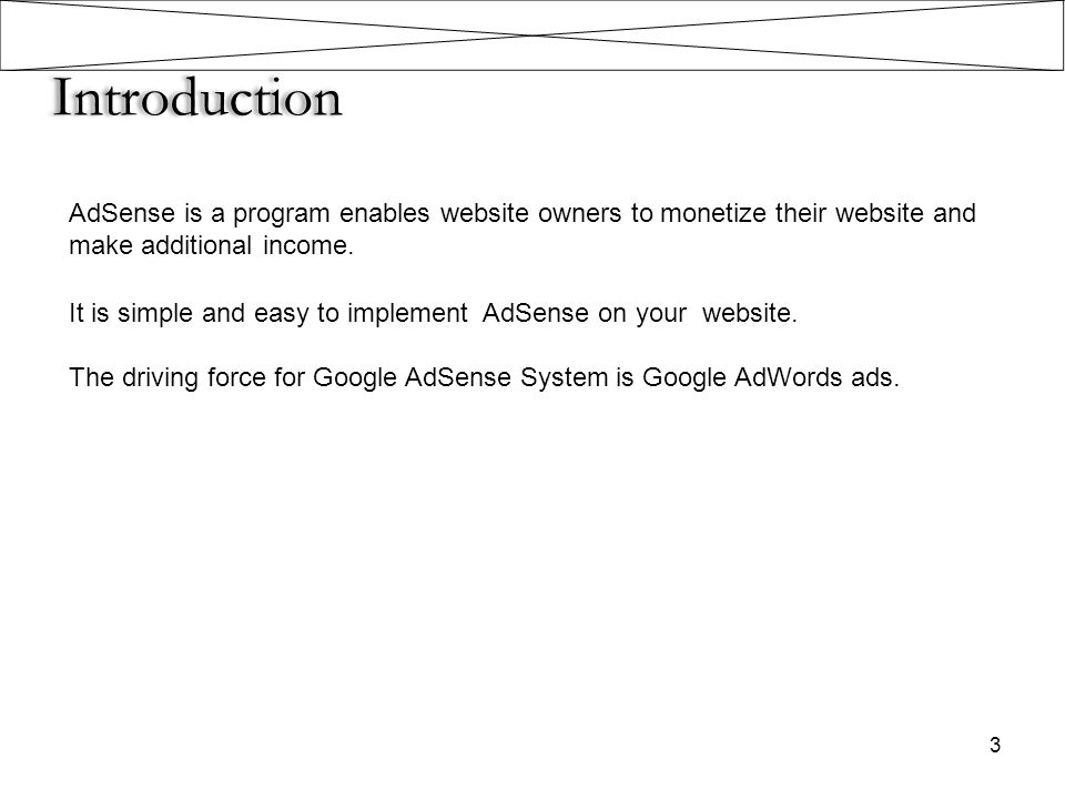 Pros & Cons of AdSense 14 Pros 1.Webmasters can now concentrate on publishing quality content.