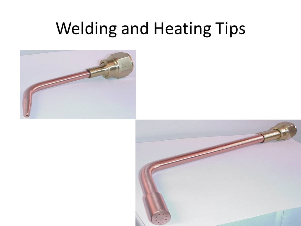 Welding and Heating Tips