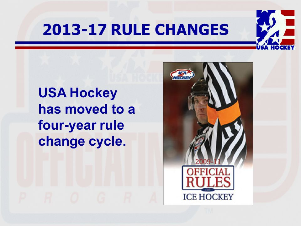 2013-17 RULE CHANGES RULE 201(b) Defines and clarifies who may occupy a Team Bench Restricted to players and coaches on the roster Non-participating players may still occupy if they follow the guidelines listed under Team Official in the Glossary.