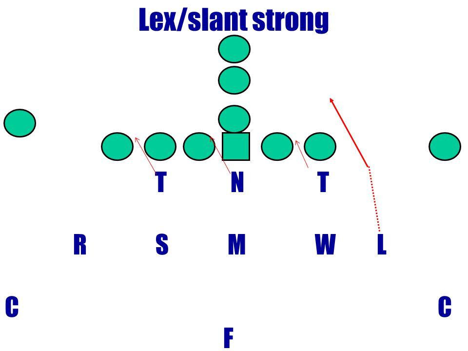 Lex/slant strong T N T R S M W L C F