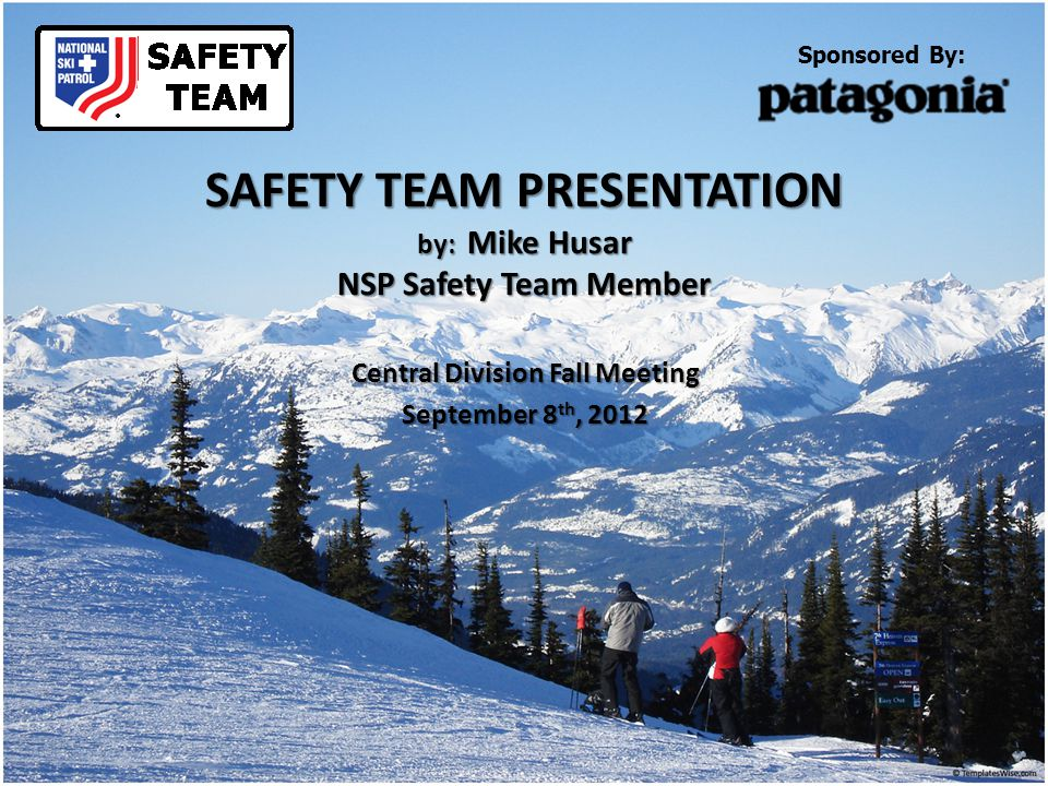 Who is the Safety Team.