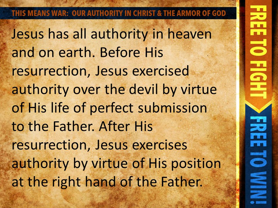 The breastplate of righteousness is our defense against temptation and accusation