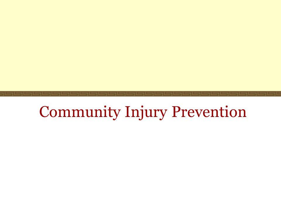 Community Injury Prevention