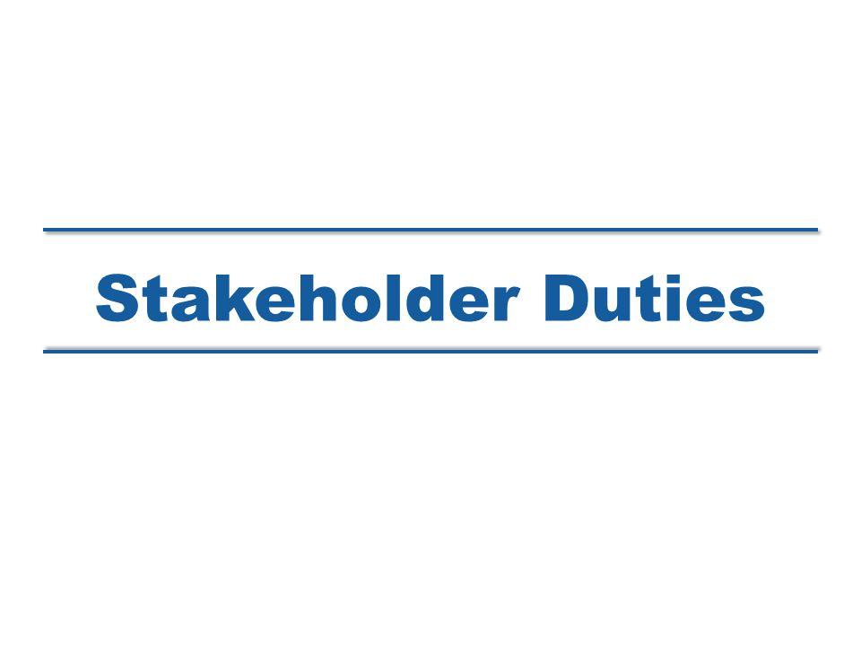 Stakeholder Duties