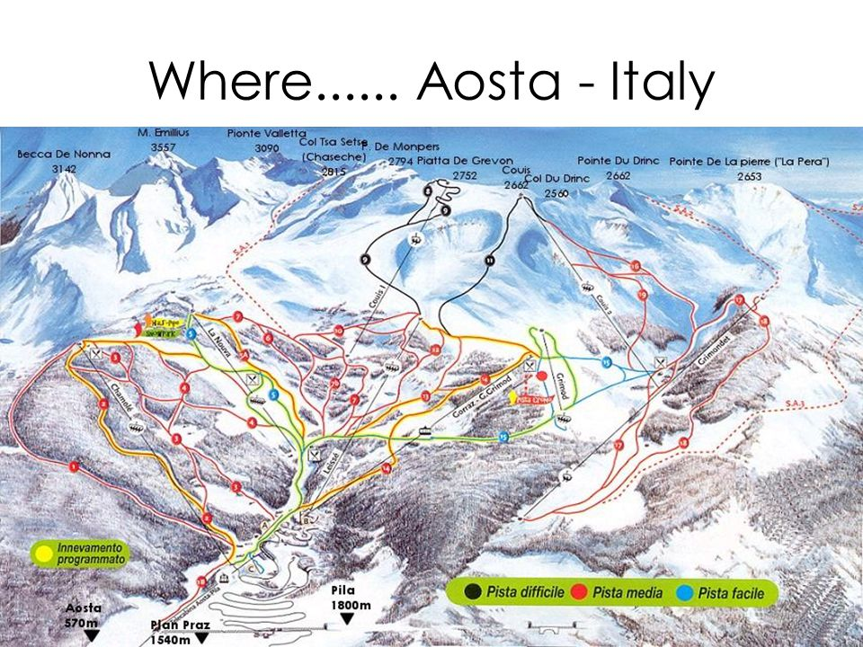 Where...... Aosta - Italy