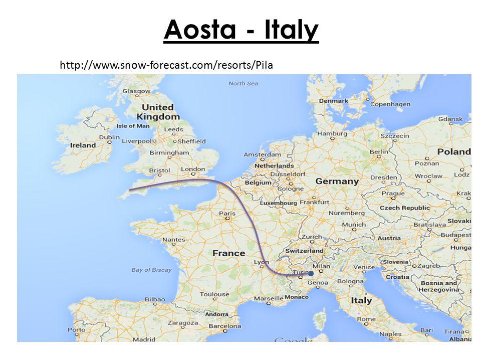 Aosta - Italy http://www.snow-forecast.com/resorts/Pila