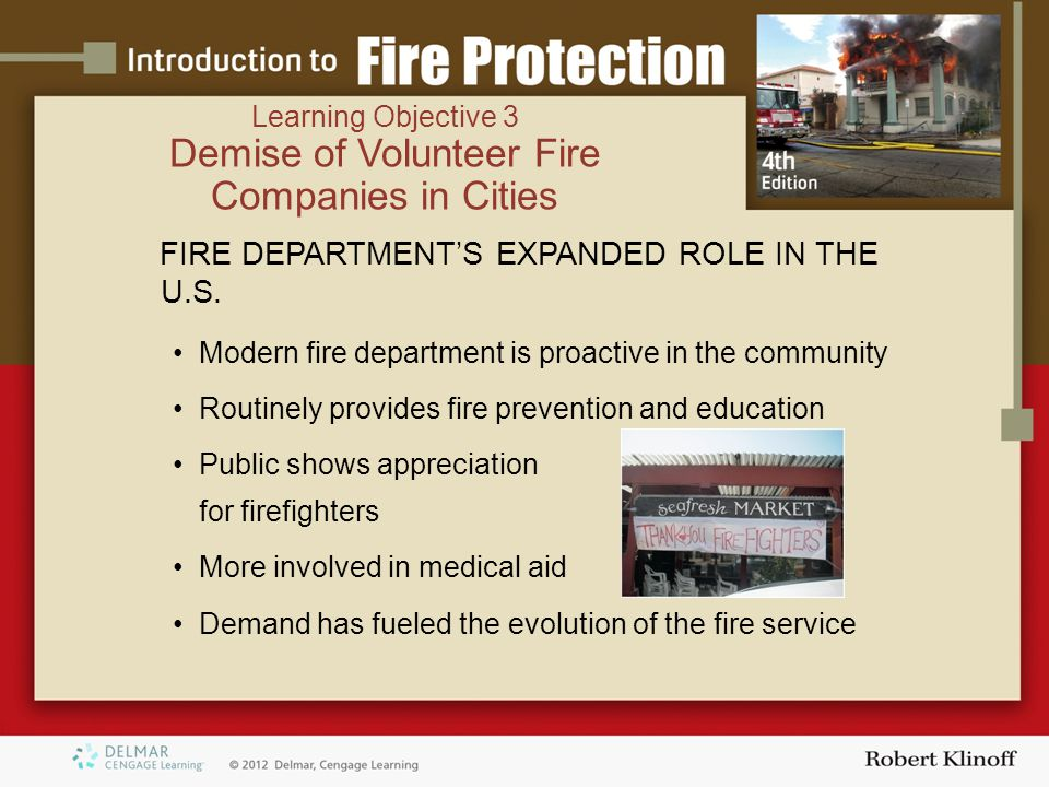 FIRE DEPARTMENT'S EXPANDED ROLE IN THE U.S.