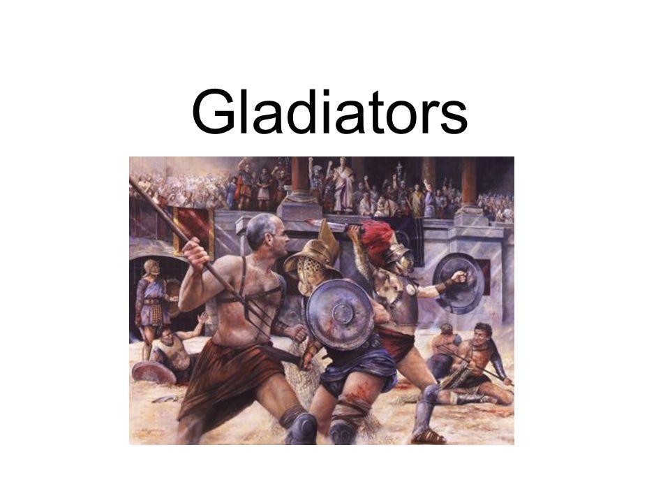 Introduction Gladiators were criminals or slaves captured in war.