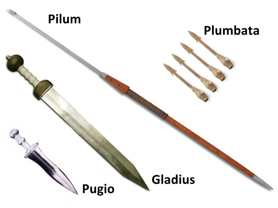 Gladius Pugio Pilum Plumbata