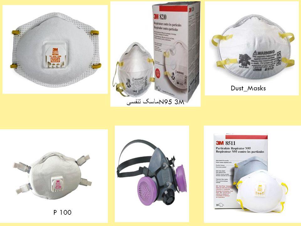 5 Dust_Masks P 100 ماسک تنفسی N95 3M