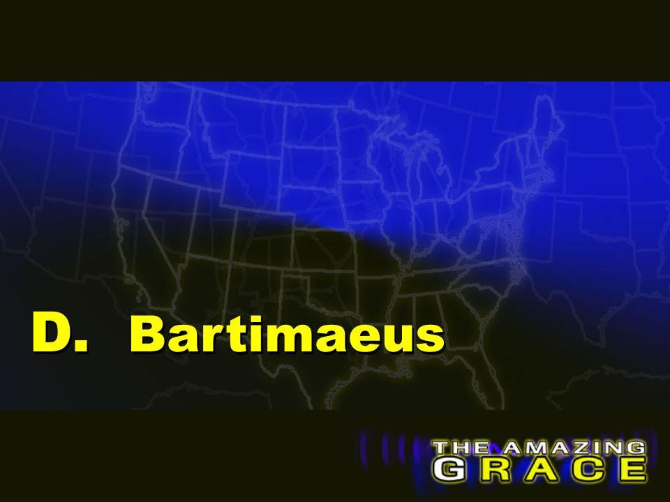 D. Bartimaeus