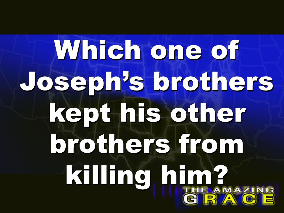 Which one of Joseph's brothers kept his other brothers from killing him