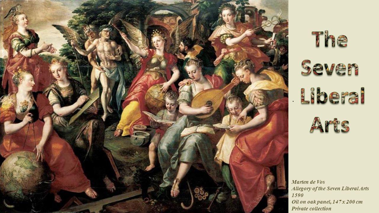 בהשפעת מסורת עתיקה, משווה דנטה אליגיירי בספרו המשתה את שבע האמנויות החופשיות לשבעה כוכבי לכת: דקדוק לירח, דיאלקטיקה לכוכב חמה (מרקורי), רטוריקה לנוגה (ונוס), אריתמטיקה לשמש, מוזיקה למאדים (מרס), גיאומטריה לצדק (יופיטר), ואסטרונומיה לשבתאי (סטורן).