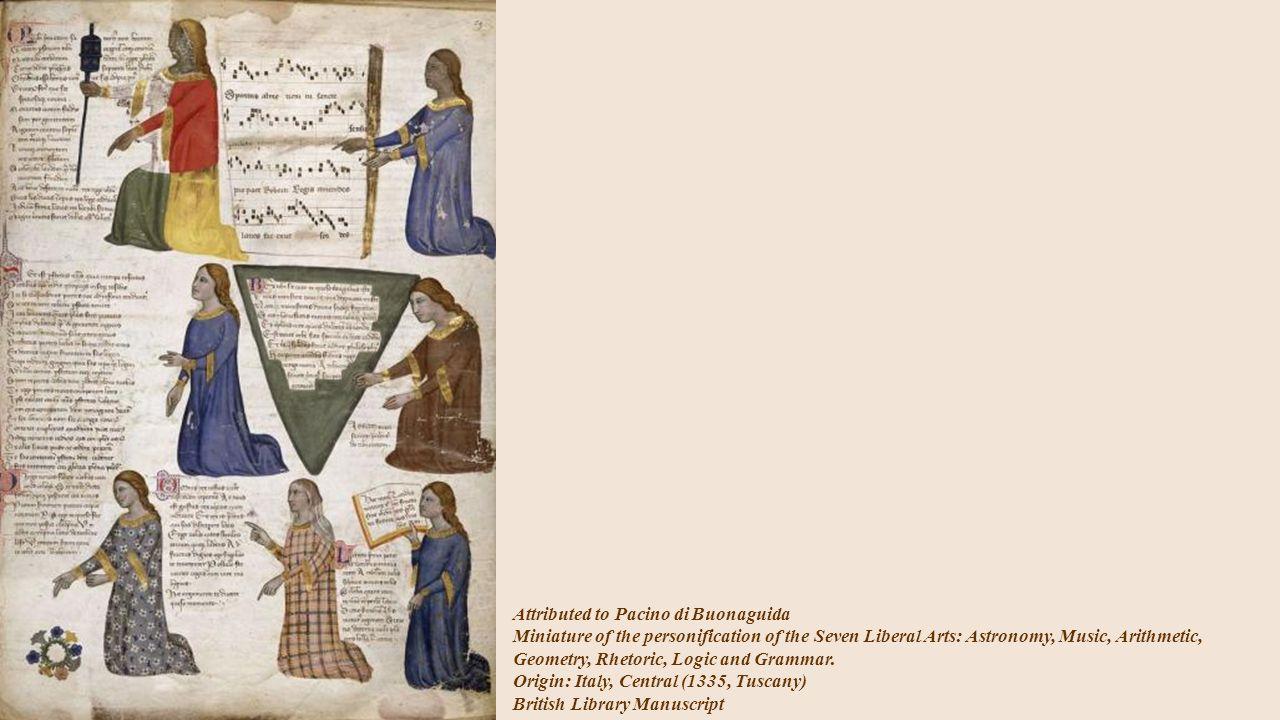 Pinturiccio The Arts of the Quadrivium; Arithmetic Fresco.