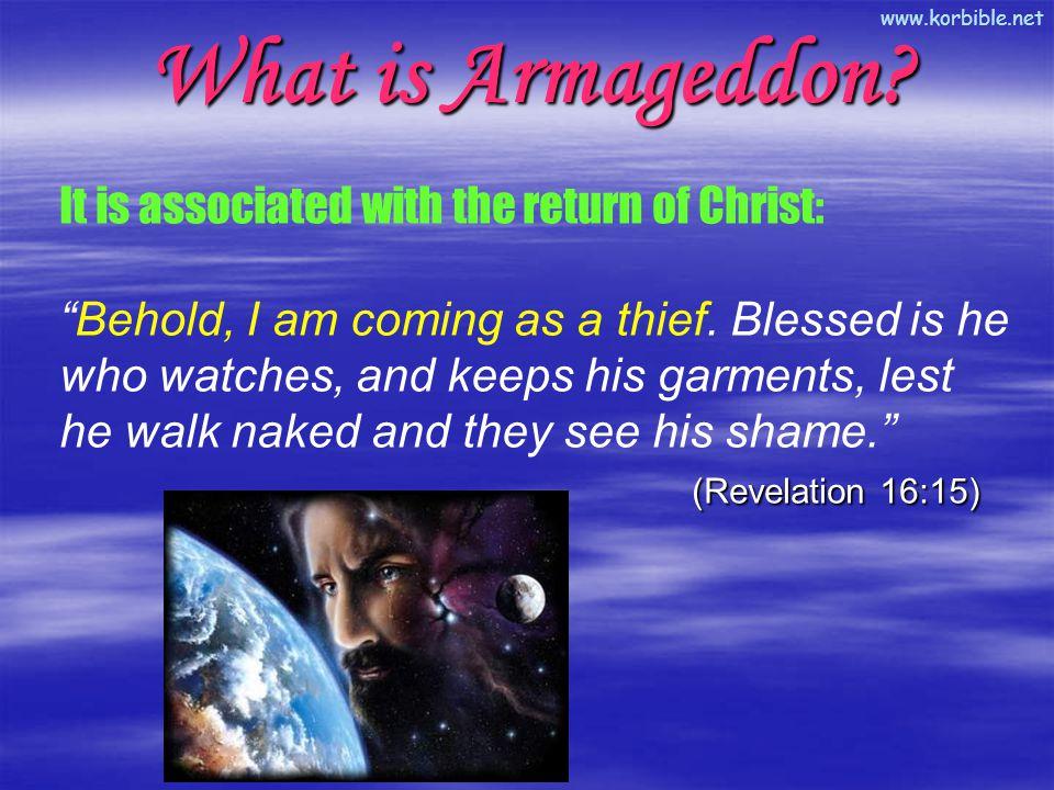 www.korbible.net What is Armageddon.