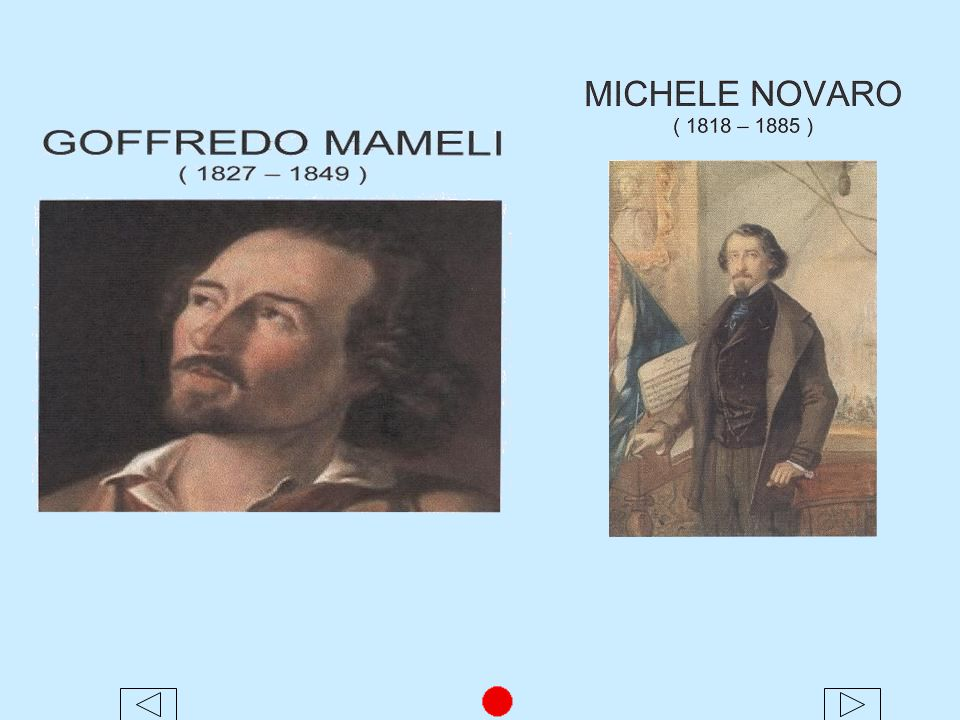 HISTORY OF THE HYMN One version of the anthem's history was told by Carlo Albero Barrillo' a patriot, a poet, a friend and biographer of Mameli.