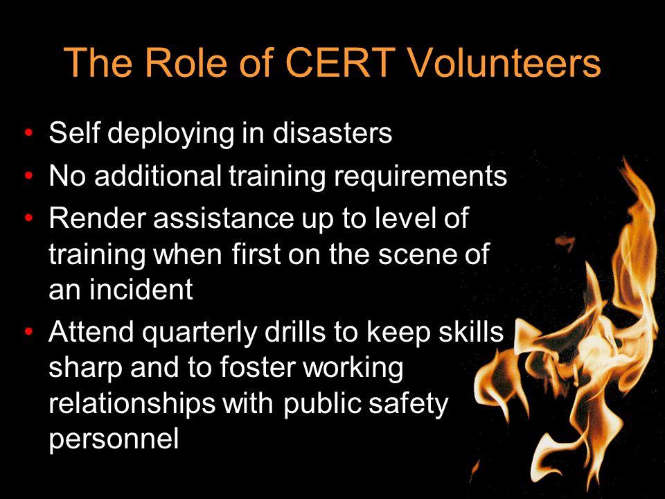 Volunteer Programs Emergency Management Career Captain CERT Program P/T Lieutenant Firecorp Program Firecorp Program Coordinator Volunteer Firefighter Program Volunteer Program Coordinator Organizational Structure