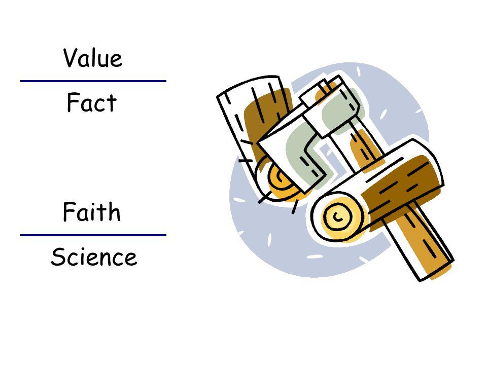 Fact Value Science Faith