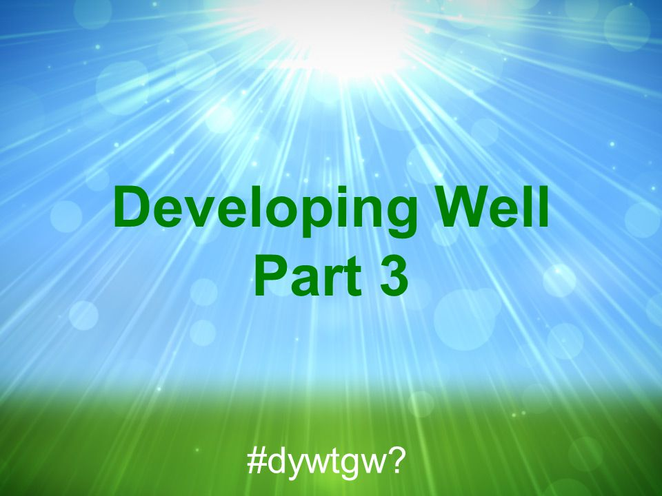 John 13:1-17 NIV Do you understand what I have done for you? he asked them. #dywtgw?