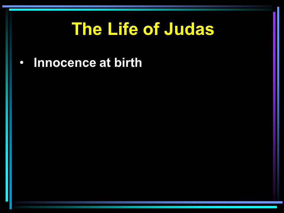 Innocence at birth