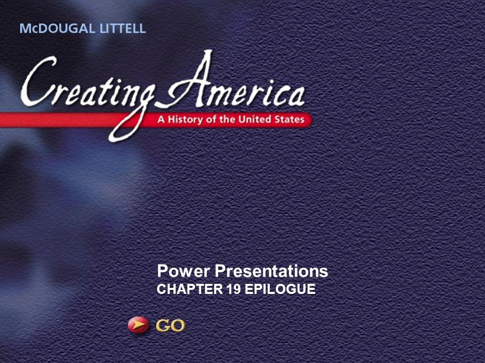 Power Presentations CHAPTER 19 EPILOGUE