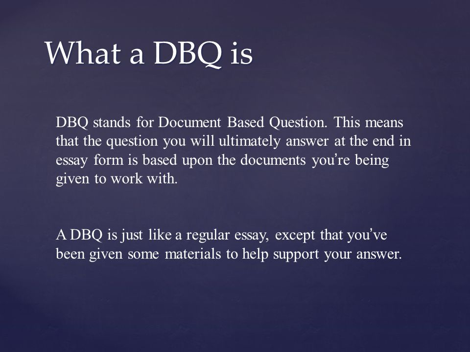{ How to do a DBQ Thomas Jefferson