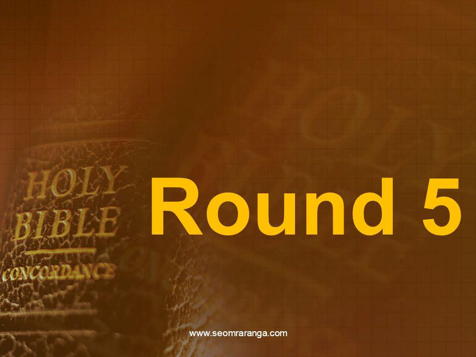 Round 5 www.seomraranga.com