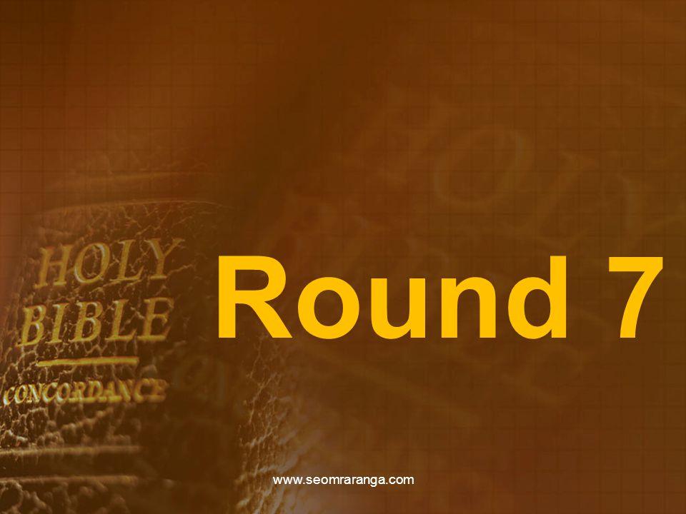 Round 7 www.seomraranga.com
