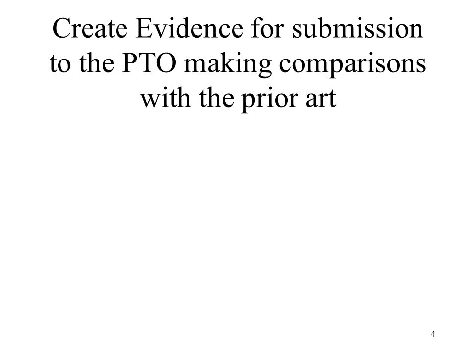 25 Declarations Should Present a Comparison With the Closest Prior Art The closest prior art is typically the single reference which shares the most features in common with the invention This may not be the art cited by the examiner You need not provide a comparison of the invention with the primary reference as modified by secondary references