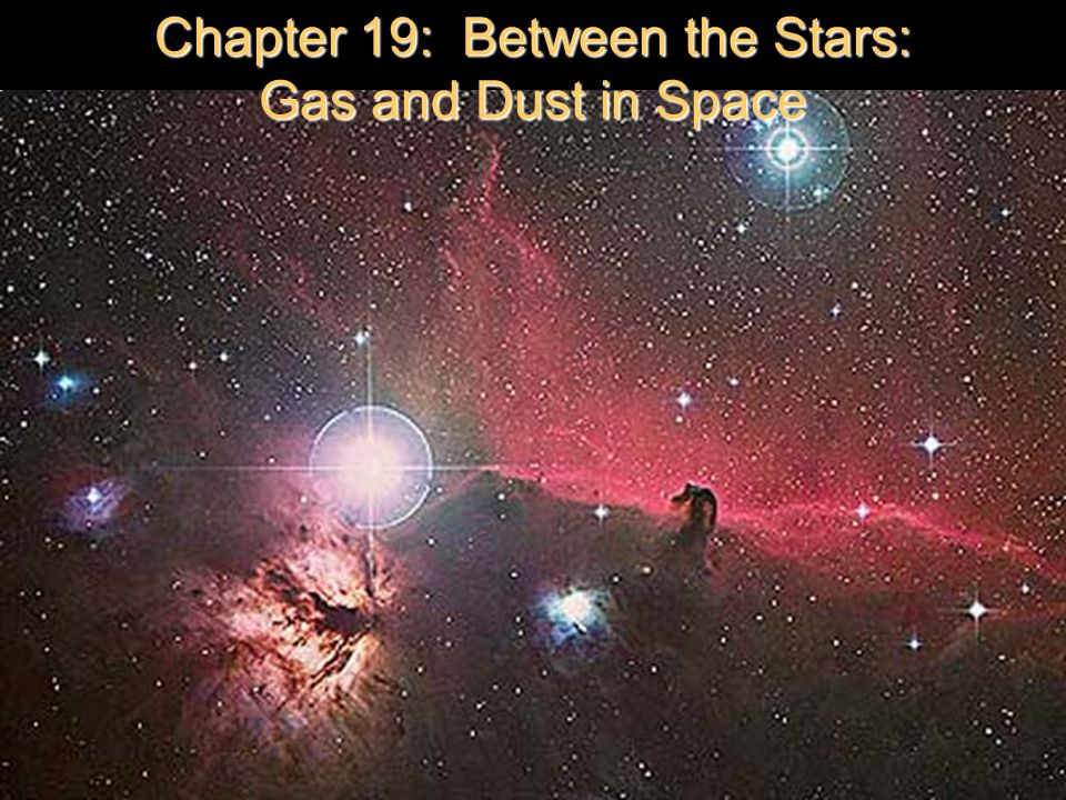 Chapter 19: Between the Stars: Gas and Dust in Space