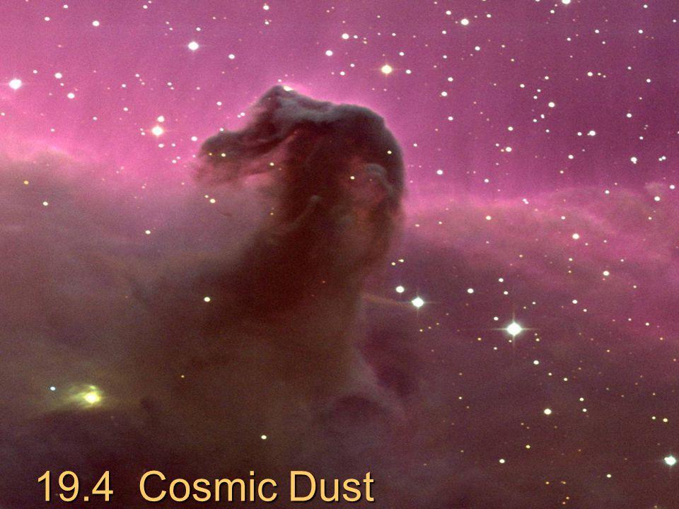 February 14, 2006Astronomy 201014 19.4 Cosmic Dust