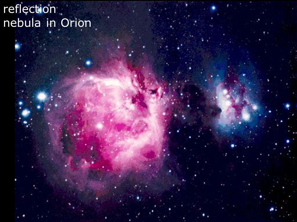 reflection nebula in Orion