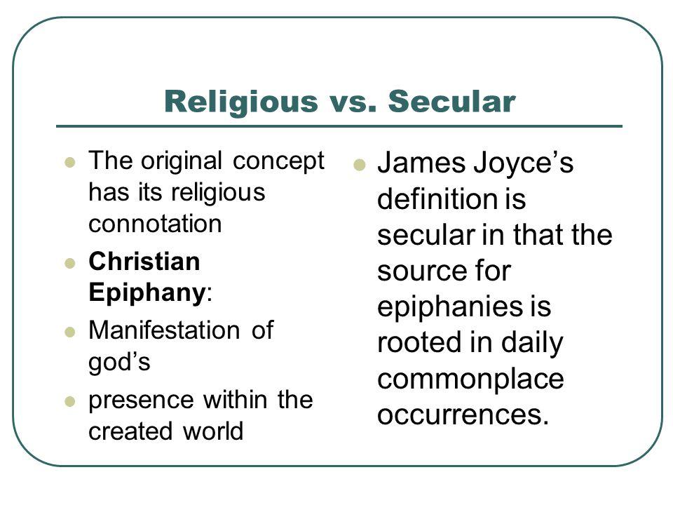 Religious vs.