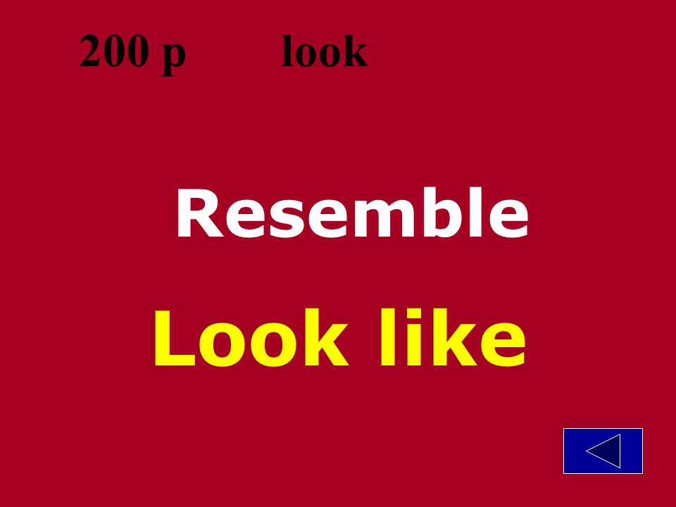 Template by Bill Arcuri, WCSD Try to find Look for 100 p look
