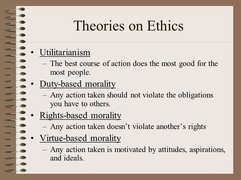 Dictionary Definition: Ethics 1.The principles of honor and morality. 2.Accepted rules of conduct. 3.The moral principles of an individual You act eth