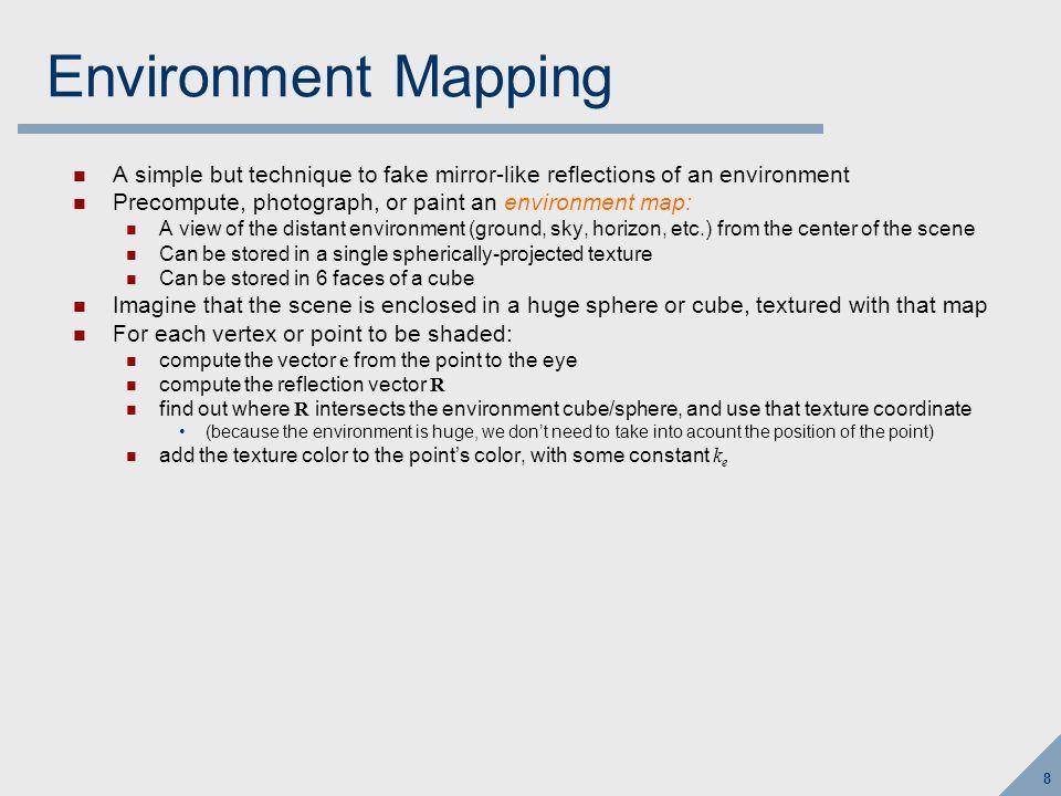 9 Environment Mapping e nr