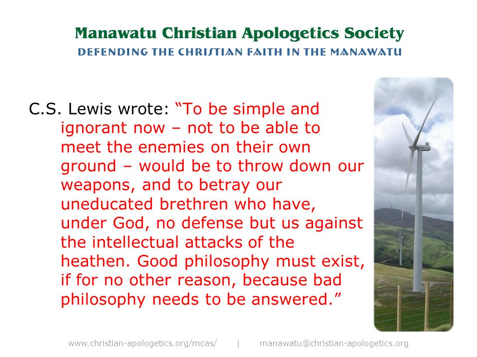 """www.christian-apologetics.org/mcas/ 