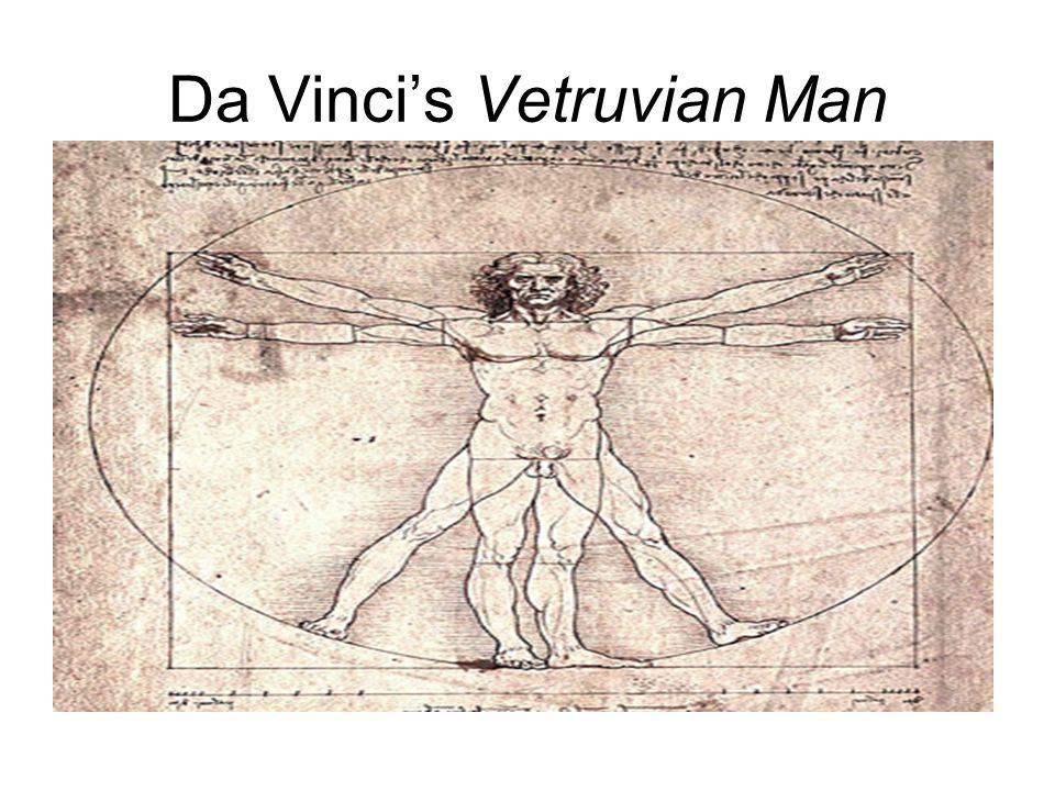 Da Vinci's Vetruvian Man
