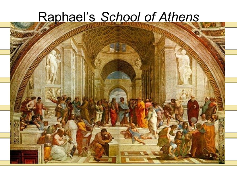 School of Athens It was painted between 1510 and 1511.